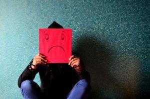 Homme triste et seul